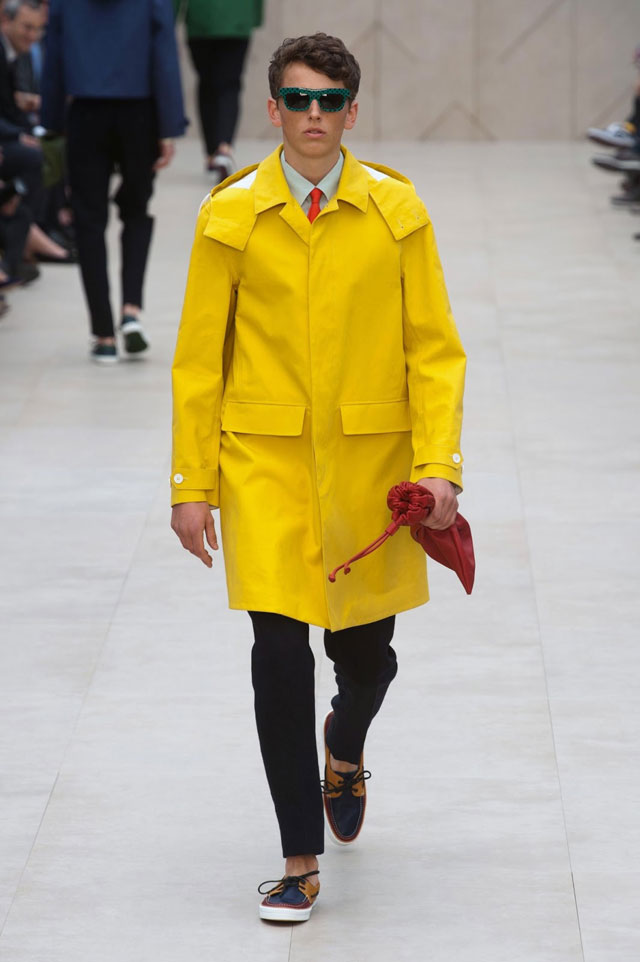 Burberry - Yellow Raincoat