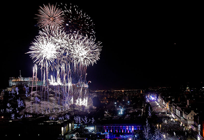 Edinburgh - New Year Eve with Pet Shop Boys