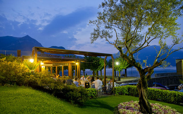 Lake Como - Restaurant La Punta