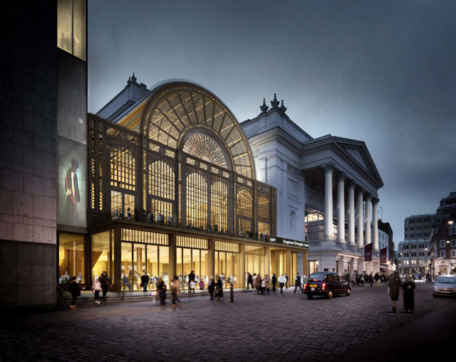London - Royal Opera House in Covent Garden