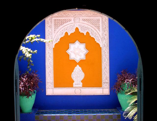 Marrakech - Jardin Majorell