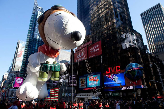 New York - Thanksgiving day Parade by Macy's
