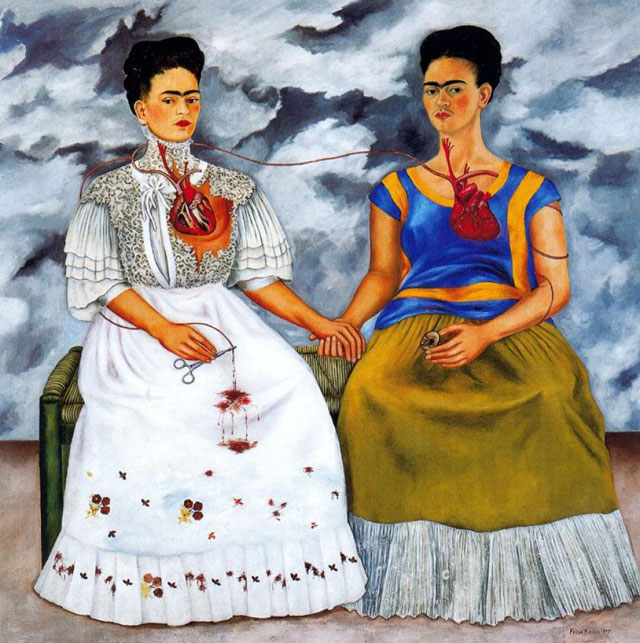 Paris - Frida Kahlo and Diego Rivera exhibition