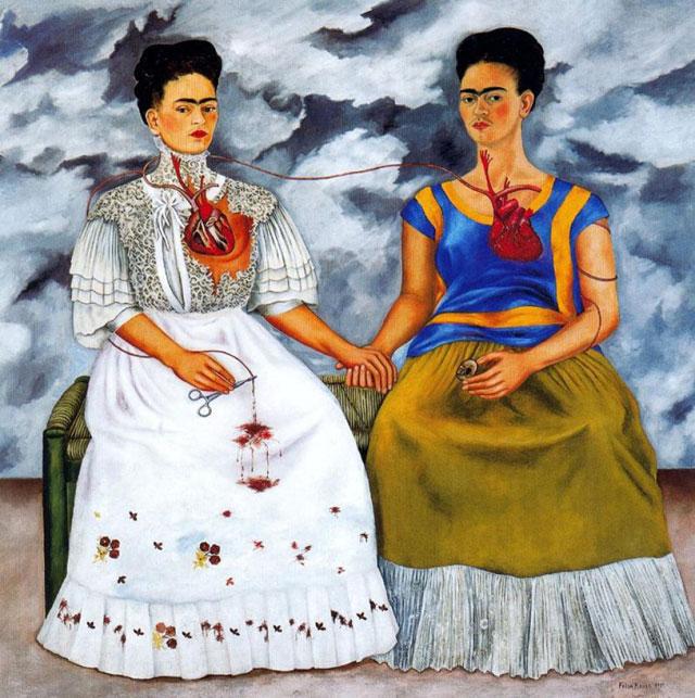 Paris - Frida Kahlo and Diego Rivera exhibition