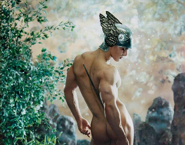 Paris - Nude men in Art exhibition