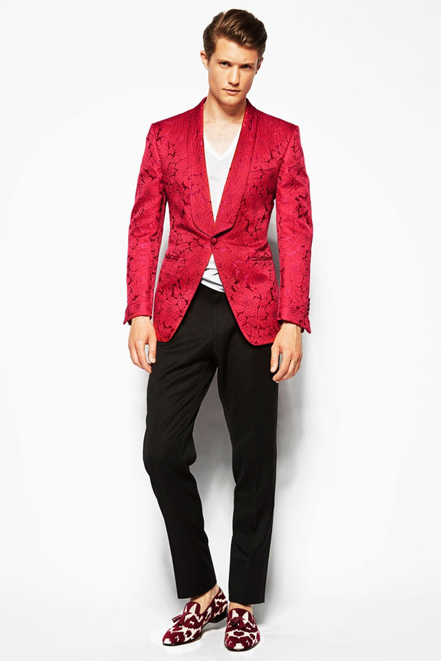 Tom Ford - Vivid Pink Cocktail Jacket