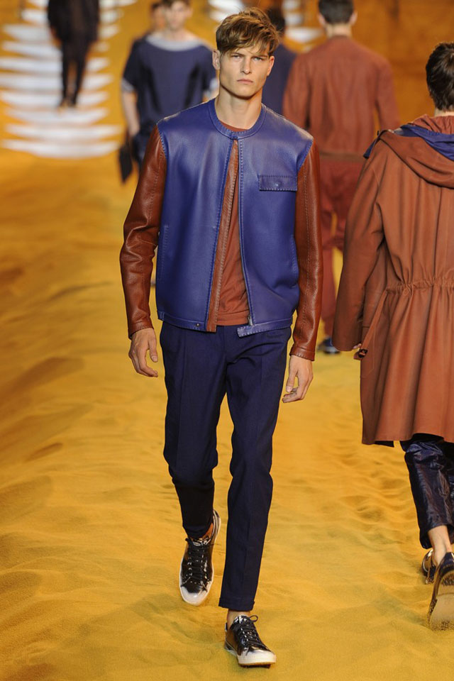 Fendi - Blue and Brown