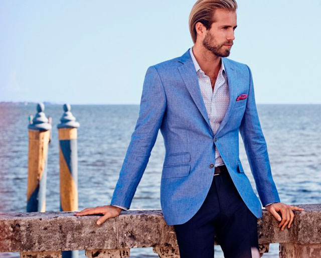House of Fraser - Light Blue Blazer