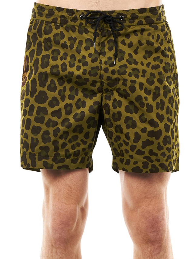 Leopard Print swim short by Marc Jacobs