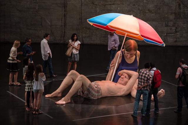 Rio de Janeiro - Ron Mueck at the MAM