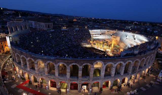 Verona - Opera 2014