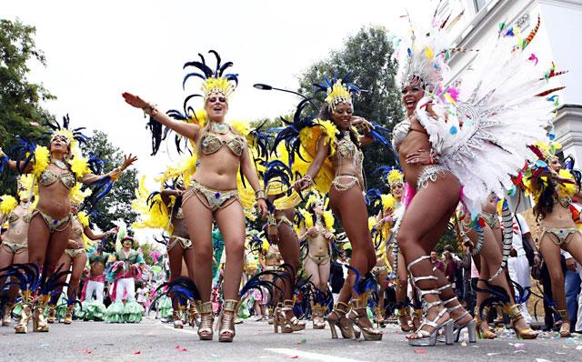 London - Notting Hill Carnival 2014