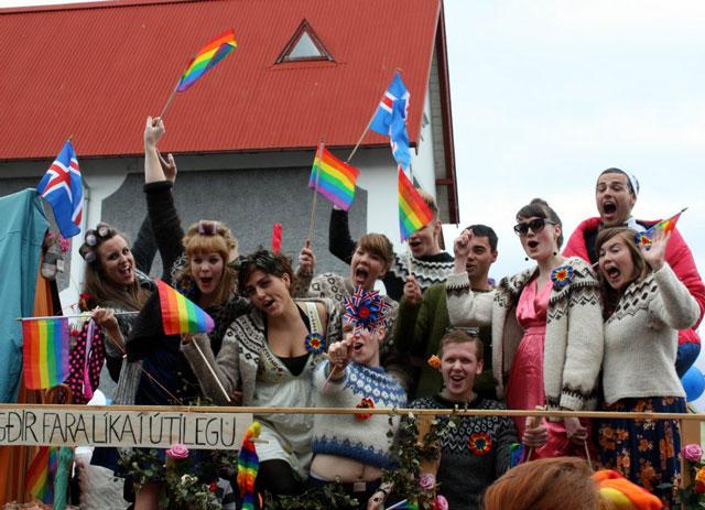 Iceland - Gay pride in Reykjavik