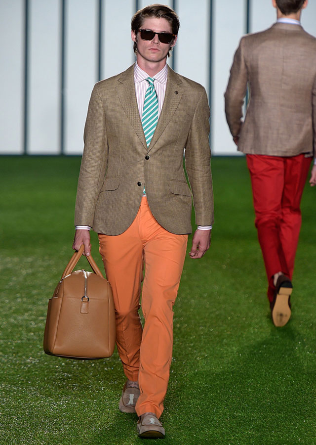 Orange Fashion - Hackett London Spring Summer 2015