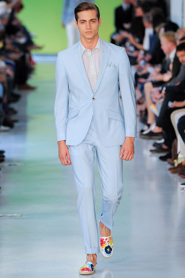 Richard James - Pale blue suit