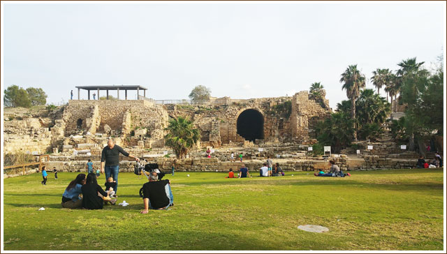 Caesarea - Visitors Center area