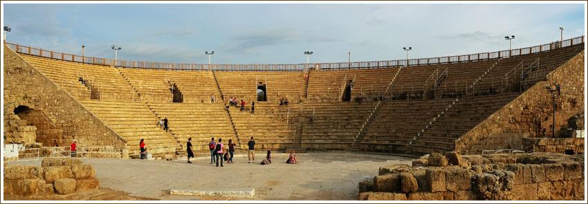 Roman Amphitheatre - Caesarea - Israel