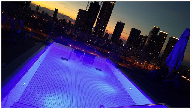 Rooftop Bar at the Hotel Indigo Tel Aviv