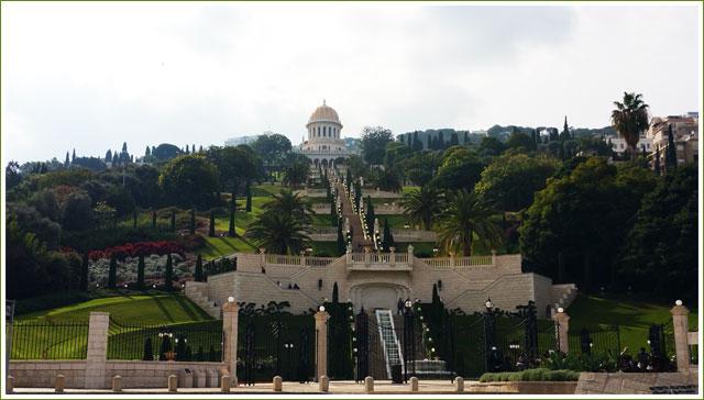 Baha'i Gardens - Haifa - Israel
