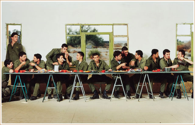 Untitled - The Last Supper by Adi Nes (1999) - Israel Museum - Jerusalem