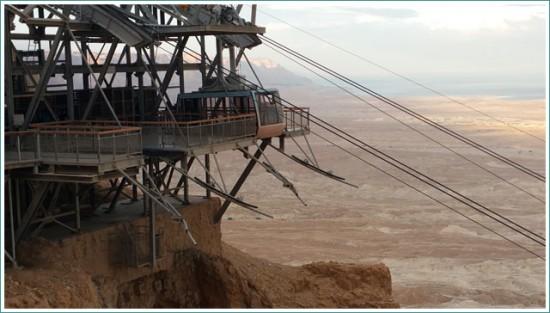 The Cable Car of Masada - Israel