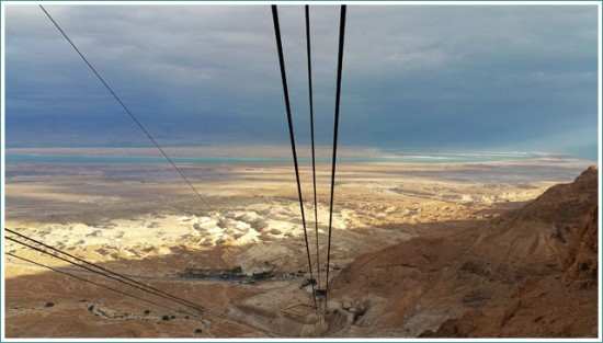 Long way of the Cable Car - Masada - Israel