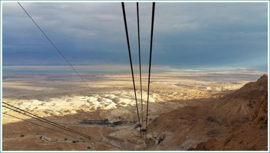 Long way of the Cable Car - Masada - Israel