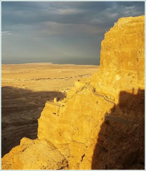 Herod's Palace - Masada - Israel