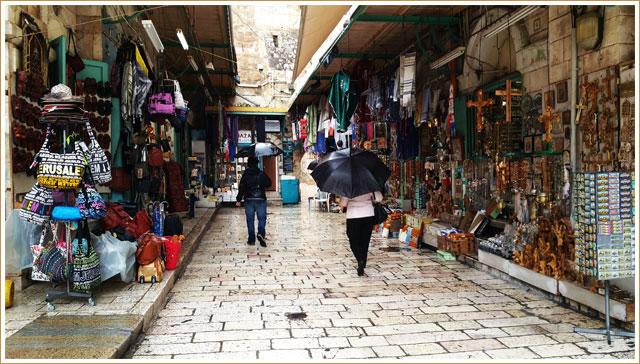 Christian Market - Jerusalem
