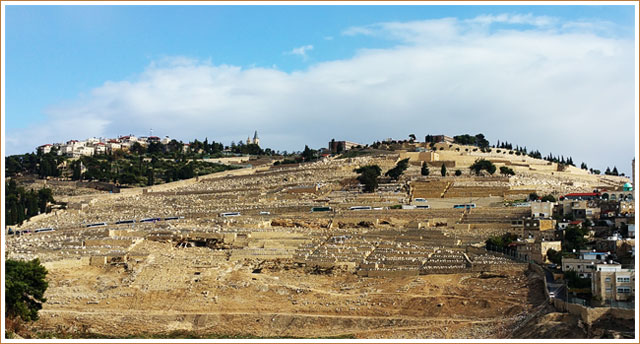 Mount of Olives - Jerusalem