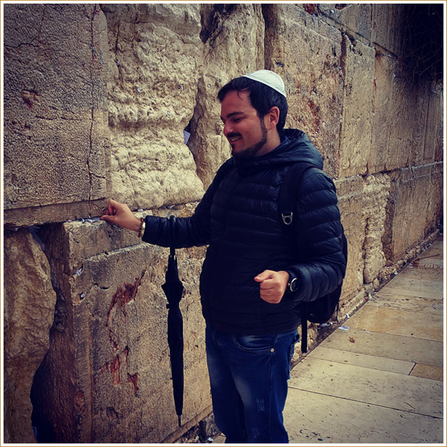 My Gay Travel Experience – Western Wall – Jerusalem