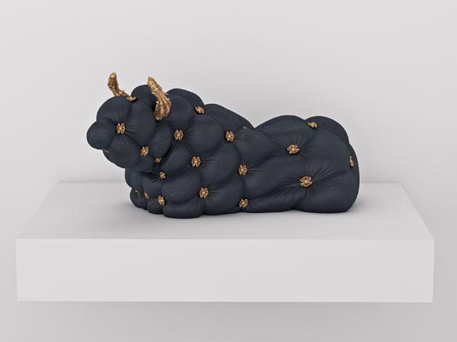 ARCO Madrid - Recumbent Bull (2014) by Jonathan Monaghan