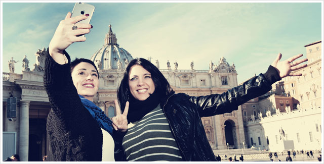 Selfie Time at The Vatican